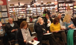 Anticipatory bookshop audience